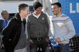 El Atlético Baleares presenta a Hugo Díaz, su primer fichaje invernal