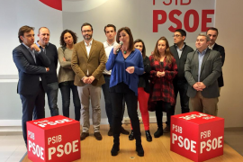 Armengol a Rajoy: «Basta ya, deje de maltratar a esta tierra»