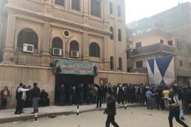 Al menos nueve muertos y 10 heridos en un ataque contra una iglesia copta en El Cairo