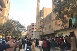 Una decena de muertos en el ataque a una iglesia al sur de El Cairo