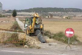 El Govern autoriza la conducción de agua potable entre Maria y Petra