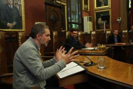 El pregonero Josep Lluís Pol reivindica, durante el pregón de la Festa de l'Estendard, el derecho a decidir de los pueblos