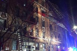 Un niño jugando con un horno habría causado el incendio del edificio en el Bronx