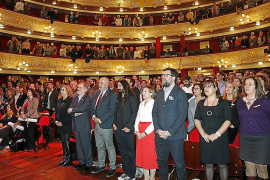 El PP pide retirar los fondos públicos a la OCB tras el acto en el Teatre Principal