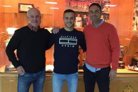 Joan Sastre amplía su contrato con el Real Mallorca hasta 2020