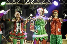 Papa Noel puede estar tranquilo porque en Ibiza tiene a los mejores ayudantes