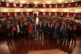 Ensenyat afirma que «nuestra lengua es nuestra máxima aportación a la humanidad», en su discurso de la Diada de Mallorca