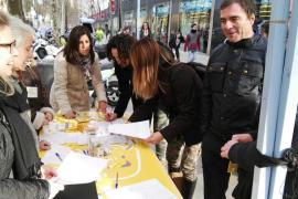 Recogen 23.000 firmas en Barcelona «para que ningún hispanohablante catalán sea discriminado»