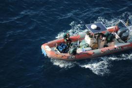 Aparece el cadáver de una mujer flotando a la altura del Club de Mar