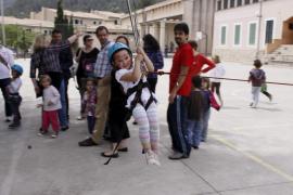 Protesta en el colegio público