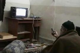El Pentágono hace públicos cinco vídeos caseros de Bin Laden en Pakistán
