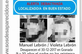 Localizados en buen estado los niños secuestrados por su padre en Sevilla