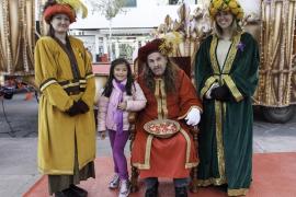 Entrega de las cartas a los pajes reales en Ibiza