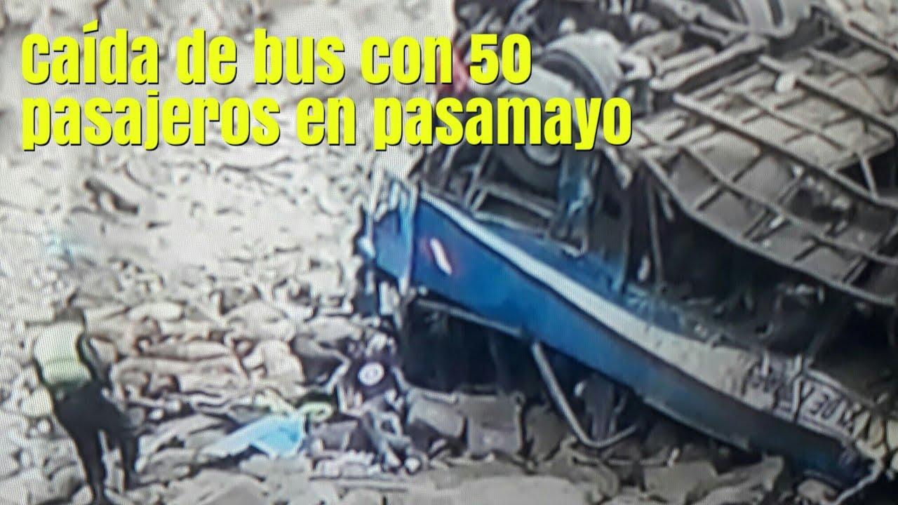 Al menos 25 personas han muerto tras la caída de autobús por un acantilado en el norte de Lima
