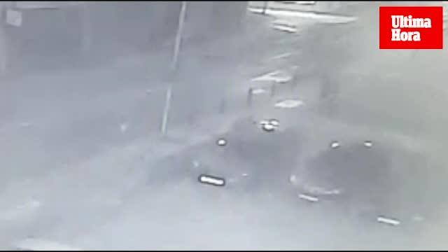 Dos encapuchados asaltan a unos jóvenes a escasos metros de la Policía Local de Palma