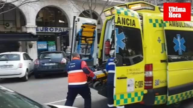 Un conductor atropella a una mujer en el Paseo Mallorca