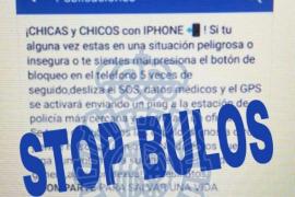 La Policía Nacional alerta de un bulo sobre un botón del pánico de los iPhone