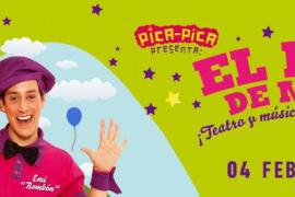Pica Pica lleva su espectáculo familiar 'El patio de mi casa' a Trui Teatre