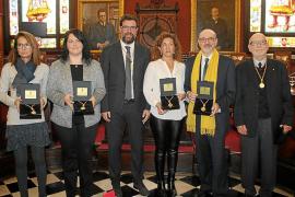 Festa de l'Estendard y entrega de medallas en Cort