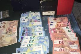 La Policía Nacional desmantela un punto de venta de marihuana cercano a dos centros escolares de Palma