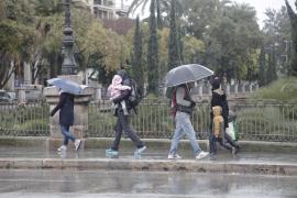 Se aproxima una borrasca que puede dejar lluvia en Baleares el sábado