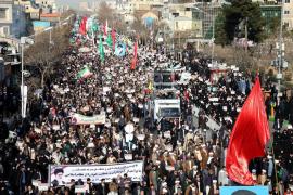 El régimen iraní minimiza las protestas y denuncia una conspiración externa