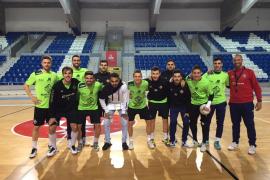 Vadillo, consciente de que el Palma Futsal «necesita una victoria»