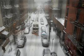 Estado de emergencia en la ciudad de Nueva York por la tormenta de nieve