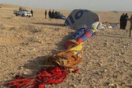 Una turista muere y 4 españoles resultan heridos durante una excursión en globo en Egipto