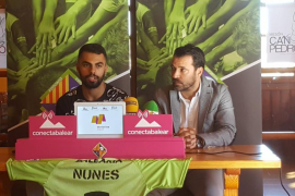 Diego Nunes, en su presentación: «El Palma Futsal es el mejor sitio donde podría estar»