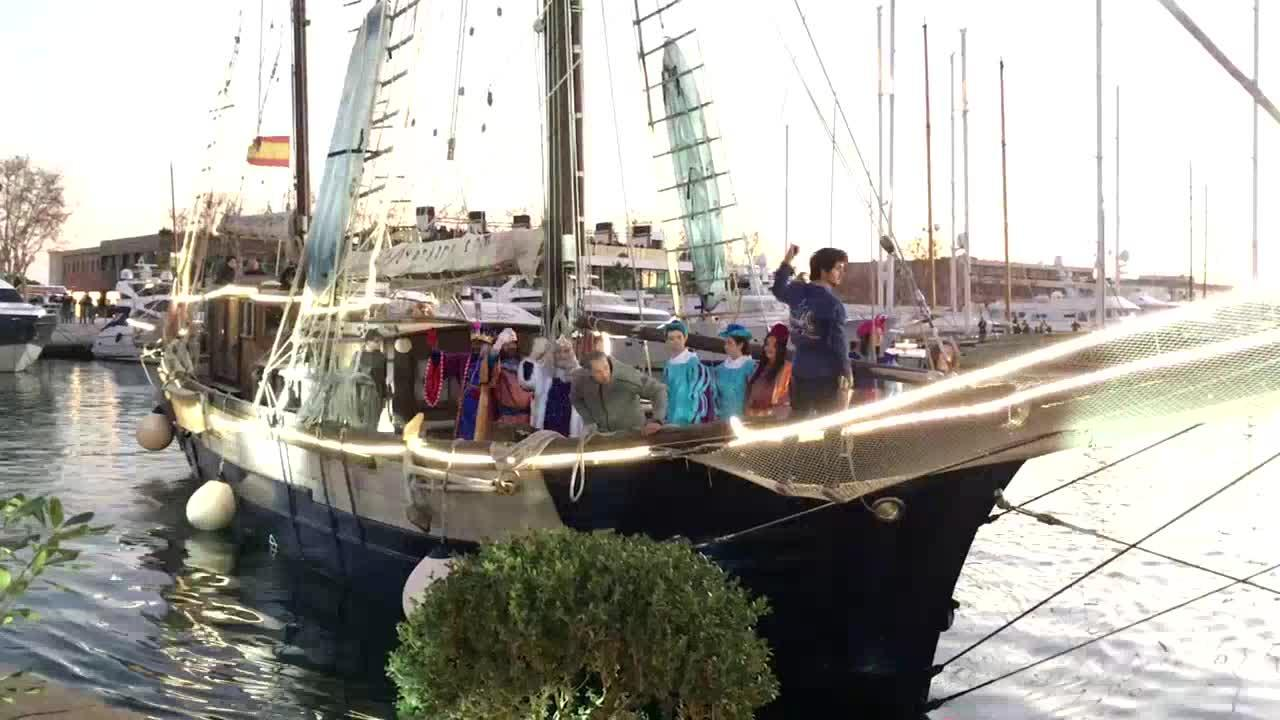Los Reyes Magos de Oriente ya están en Palma