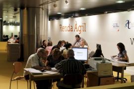 El servicio Renda Àgil tramitará este año 50.000 declaraciones en Balears