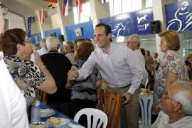 Bauzá afirma que el PP garantiza las pensiones mientras que el PSOE «las congela»