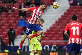 El Atlético gana al Getafe con gol y expulsión de Diego Costa