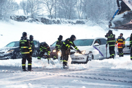 El director de la DGT dice que los conductores no tomaron precauciones ante la nevada