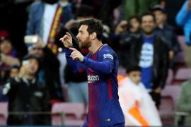Cómoda victoria del Barça ante el Levante para seguir en lo más alto