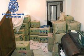 3.000 kilos de hachís intervenidos en una operación con cuatro narcos detenidos