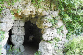 Hallan en Inca un talayot en «excepcional» estado de conservación