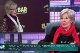 Concha Velasco desvela que también sufrió acoso sexual
