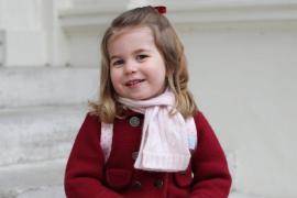 El primer día en la guardería de la princesa Carlota