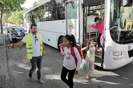 Los 125 alumnos del colegio Santa Isabel que acudían al Son Quint regresaron este lunes a su centro