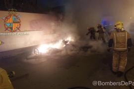 Más incendios de contenedores en Palma