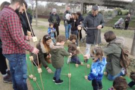Sant Sebastià Petit 2018, una jornada de ocio familiar en el parque de Sa Riera