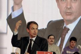 Zapatero: «Miente como un bellaco quien diga que el PSOE ha hecho recortes»