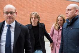 Luka Modric declara en los juzgados por supuestos delitos fiscales