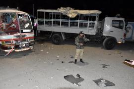 Al menos siete muertos y 15 heridos en un atentado suicida en Pakistán