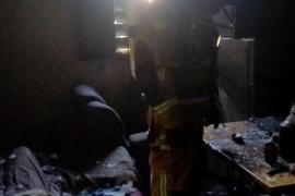 Cinco personas resultan heridas, una de ellas grave, en el incendio de una vivienda en Marratxí