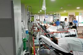 Más de 60 pacientes sin cama en los hospitales del IB-Salut