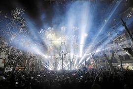 Reducen a la mitad el acceso de personas a la plaza de sa Pobla en la 'revetla' de Sant Antoni