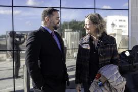 La nueva directora insular, Neus Mateu visita las instalaciones del Grupo Prensa Pitiusa